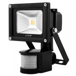 Avide Led floodlight Sensor 10watt - 4000K - 900 lumen
