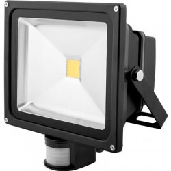 Avide Led floodlight Sensor 30watt - 4000K - 2700 lumen