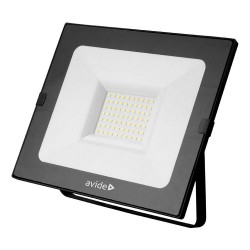 Avide led breedstraler/floodlight slim - 50watt - 4000K - 3250 lumen (vervangt 433watt)