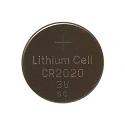 CR2020 3V lithium button cell battery