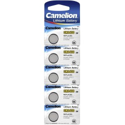 Camelion 5x CR2430 3Volts lithium button cells batteries