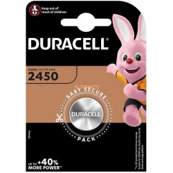 Duracell CR2450 - DL2450 - 5029LC 3Volts lithium button cell battery
