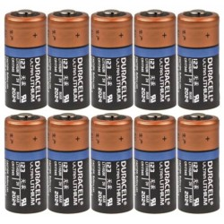 Duracell Ultra Lithium 10x CR123A - DL123 3Volt batterijen bulk