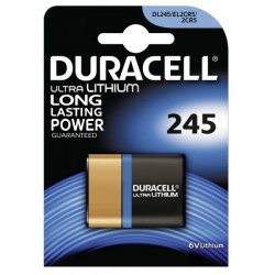 Duracell Ultra Lithium DL245 - 2CR5 - EL2CR5 - DL345 - 6Volts battery