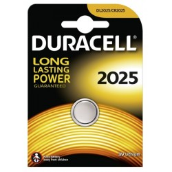Duracell CR2025 - DL2025 - 5003LC 3Volts lithium button cell battery