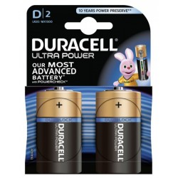 Duracell Ultra Power 2x D, LR20