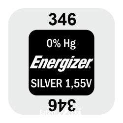 Energizer 346 - SR712SW 1,55Volts silver oxide watch button cell battery