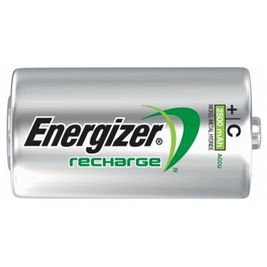 Energizer Recharge Power Plus 2x C 2500mAh 1,2Volt NiMH rechargeable batteries