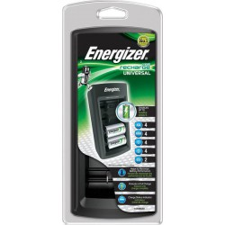 Energizer Universal charger for AA/AAA/C/D/9V NiMH rechargeable batteries