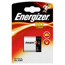 Energizer lithium 223 - CRP2 - 5024LC 6Volts battery