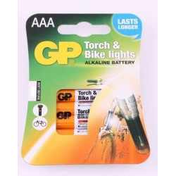 GP Torch & Bike lights 4x AAA - LR3 - Potlood - Micro 1,5Volt alkaline batterijen