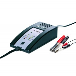 H-TRONIC AL 2000plus intelligent battery charger for 12V lead acid and li-ion accu's