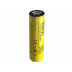 Nitecore INR21700 4800mAh 3.6Volt 17.28Wh battery - flat top