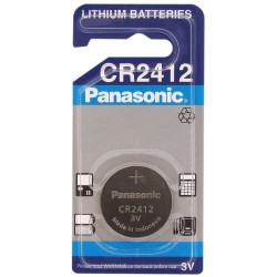 Panasonic CR2412 - DL2412 - BR2412 3Volts lithium button cell
