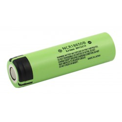 Panasonic NCR18650B 18650 3350 mAh li-ion battery - Unprotected