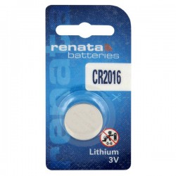 Renata CR2016 - DL2016 3Volts lithium button cell battery