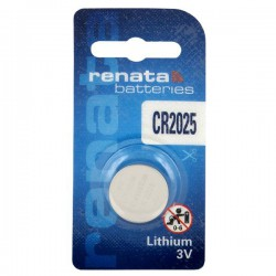 Renata CR2025 - DL2025 3Volts lithium button cell battery