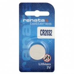 Renata CR2032 - DL2032 3Volts lithium button cell battery