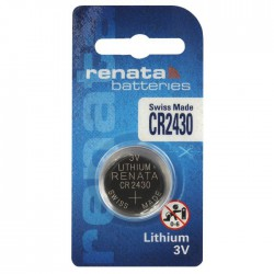 Renata CR2430 - DL2430 3Volts lithium button cell battery