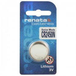 Renata CR2450N - DL2450N 3Volts lithium button cell battery