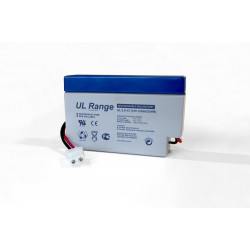 Ultracell UL0.8-12 12Volts 0,8Ah (20hr) with JST connecttion lead acid battery accu AGM VRLA 96x25x62mm