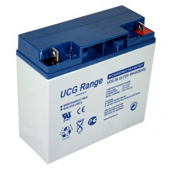 Ultracell UCG20-12 12Volt 20Ah/17Ah/18Ah (20hr) deep cycle gel lead acid battery accu