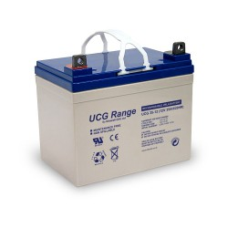 Ultracell UCG 12Volt 35Ah Loodaccu Loodgel SLA VRLA Deep Cycle Gel 195x130x180mm
