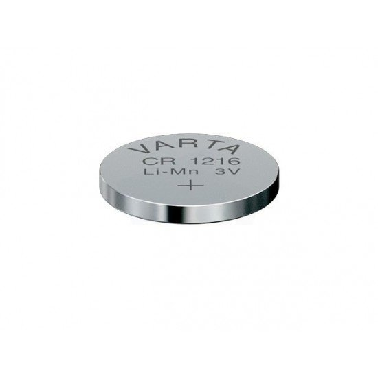 VARTA CR1216 - DL1216 - BR1216 - 6216 - 5034LC 3Volts lithium button cell battery