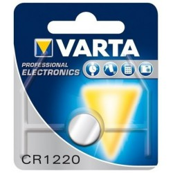 VARTA CR1220 - DL1220 - BR1220 - 6220 - 5012LC 3Volts lithium button cell battery