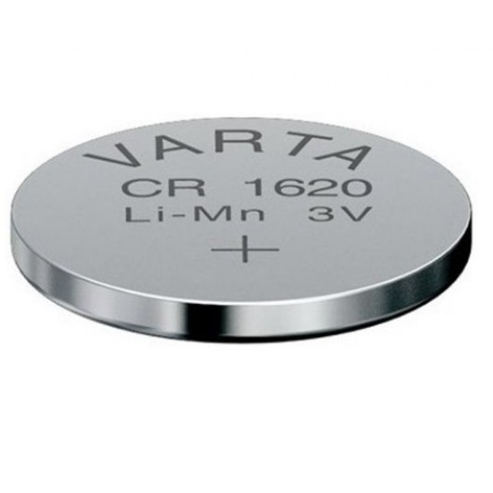 VARTA CR1620 - DL1620 - BR1620 - 6620 - 5009LC - CR0523 3Volts lithium button cell battery