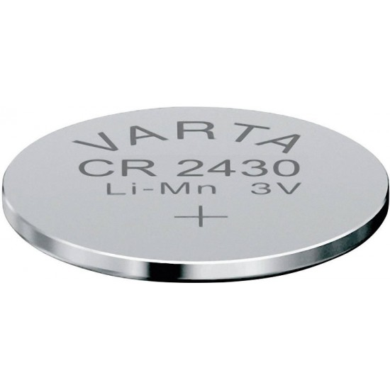 Varta CR2430 - DL2430 - 6430 - 5011LC 3Volt 300mAh Lithium Knoopcel Button cells