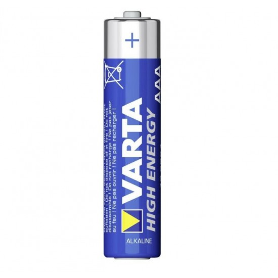 Varta High Energy 4x AAA Alkaline batteries