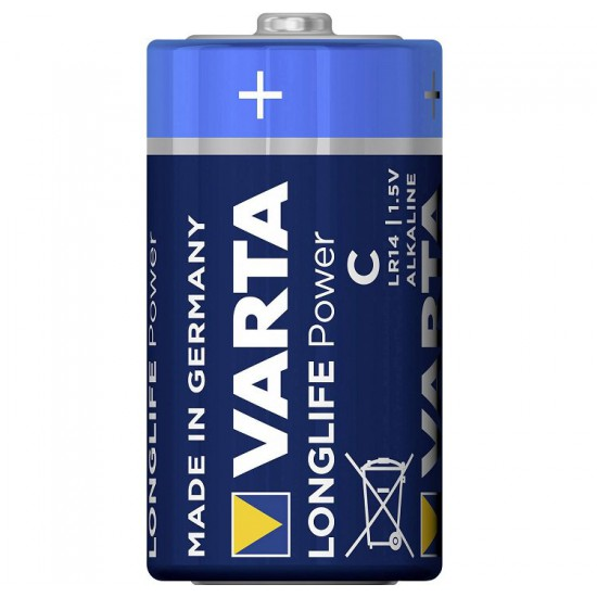 VARTA Longlife Power 2x C - LR14 - 4914 1,5Volt alkaline batteries