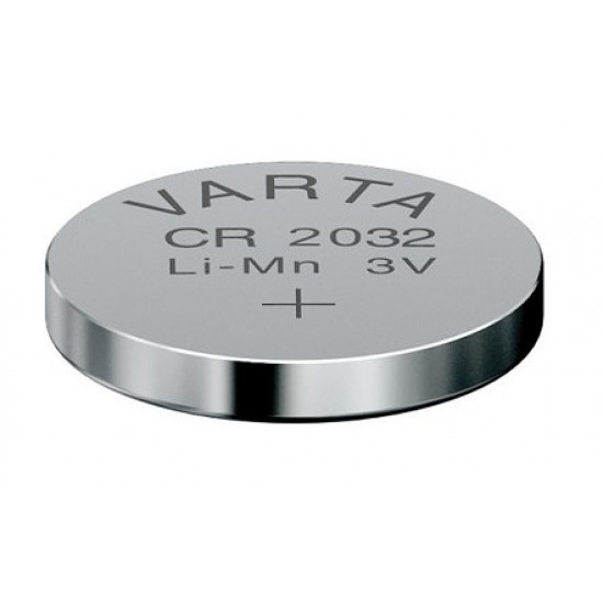 VARTA CR2032 - DL2032 - BR2032 - 6032 - 5004LC 3Volts lithium button cell battery
