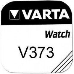 VARTA V373 - D373 - SR916SW - SR916W - SR68 1,55Volts silver oxide watch button cell battery