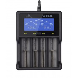 XTAR VC4 charger for 4x Li-ion/NiMH batteries