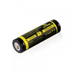 Xtar 14500 800mAh 3,7Volt Button Top Li-ion oplaadbare batterij - IC Protection