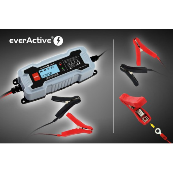 everActive CBC-4 intelligente batterijlader voor 6V / 12V loodaccu's